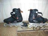 Роликовые коньки. Фото 1.
