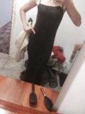 Вечернее платье и накидка. Фото 2.