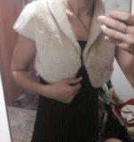 Вечернее платье и накидка. Фото 3.
