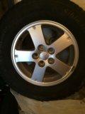 Продам комплект колес на литье 5*114.3. Фото 2.