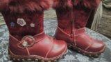Зимние сапожки для девочки. Фото 2.