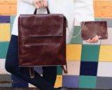 Женский рюкзак-сумка из натуральной кожи. Фото 1.