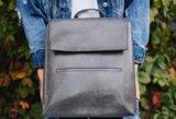 Женский рюкзак-сумка из натуральной кожи. Фото 2.