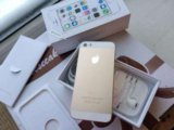 Iphone 5s gold 16gb. Фото 1.