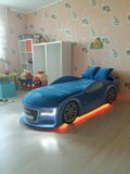 Кровать машина три цвета. Фото 4.