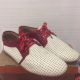 Кожаные туфли р-р 40. Фото 1.