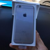 Iphone 6 space gray 16 gb. Фото 1.