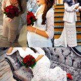 Свадебное платье для беременных. Фото 1.