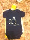 Новое боди для новорождённых. Фото 1.