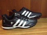 Кроссовки adidas climaproof кожаные. Фото 1.