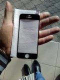 Бронь стекло на айфон 5с. Фото 1.