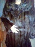 Шуба норковая 53-54 размера. Фото 3.