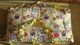 Кроватка с матрасом и бортиками. Фото 3.