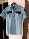 Рубашка сотрудника охраны. Фото 1.