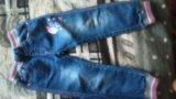 Детские джинсы р-р 104-110. Фото 2.