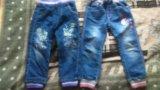 Детские джинсы р-р 104-110. Фото 3.