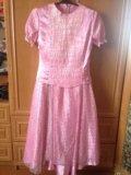Платье для девочки подростка. Фото 1.