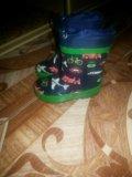 Сапожки резиновые. Фото 1.