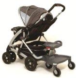 Подножка (подставка) к коляске для второго ребенка. Фото 1.