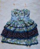 Платье с цветочным принтом. Фото 2.