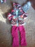 Куртка новая 3-4 года. Фото 1.