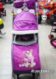 Санки-коляска новые. Фото 2.