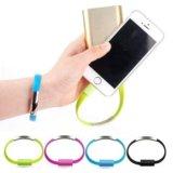 Зарядка-браслет для iphone 5/5s 6/6s. Фото 2.