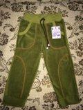 Флисовые штаны новые. Фото 1.