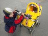 Колибель-шезлонг+ коляска. Фото 3.