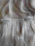 Натуральные волосы (на заколках). Фото 2.