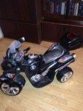 Детский мотоцикл электро. Фото 2.