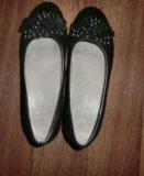 Черные туфли д/д. Фото 1.