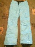 Горнолыжные штаны. Фото 4.