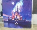 Баннер  замок disney для фото зоны. Фото 1.