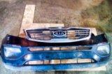 Бампер передний в сборе kia sportage. Фото 1.
