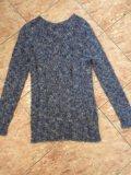 Шикарный теплый итальянский свитер. Фото 1.
