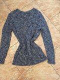 Шикарный теплый итальянский свитер. Фото 2.