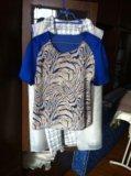 Топ блузка натуральный шелк. Фото 1.