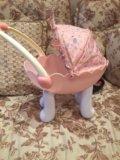 Коляска для кукол baby anabel. Фото 1.