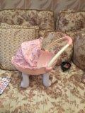 Коляска для кукол baby anabel. Фото 2.