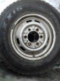 Зимняя  резина 185 r14 c 8pr102/100q. Фото 1.
