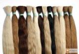 Продажа славянских волос и их наращивание. Фото 1.
