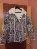 Куртка женская новая двусторонняя. Фото 3.