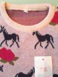 Новый джемпер свитер 110-116 р-р. Фото 3.