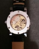 Механические часы winner hollow skeleton. Фото 2.