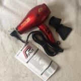 Фен parlux 385 power light красный новый(италия). Фото 1.