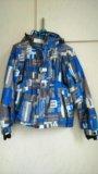Куртка утепленная для мальчика размер указан 38(s). Фото 1.