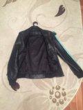 Куртка кожаная. мужская. Фото 2.