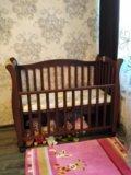Польская детская кроватка 140×65. Фото 1.
