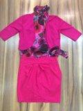 Юбка+блуза+болеро 42-44. Фото 2.